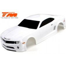 Body - 1/10 Touring / Drift - 195mm - Painted - no holes - CMR White