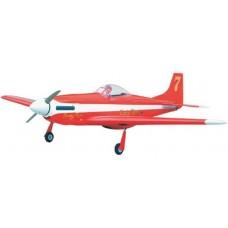 "Aviomodelis, ""P-51 Mustang (Dago Red), 46, ar iekҐdedzes dzinЙju, ARF"