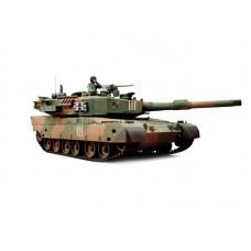 "Modelis, radiovadāss, tanks ""Japan Type 90"", 1:24, ar pneimatisko lielgabalu"