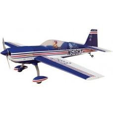 Aviomodelis, pilotāžas, Extra 330L - 60 (tumši zils), ARF