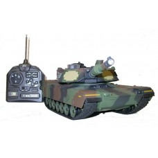 "Radiovadāms tanks ""M1A2 Abrams"",1:24, IS"