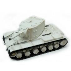 Tanks 1/24 SOVIET RED ARMY KV-2 Ziemas, pneimatiskais
