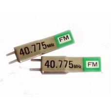 Sanwa xtal 40,775 FM TX, RX