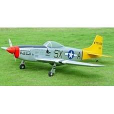 Aviomodelis, P51 Mustang EP/25, ARF