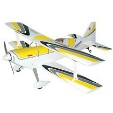 Aviomodelis  pilotāžas Ultimate-40S (dzeltens), ar iekšdedzes dzinēju, ARF