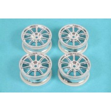 10 Spoke Metal Plated Wheel