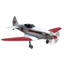 Aviomodelis MIG-3, elektriskais, ARF, sarkans